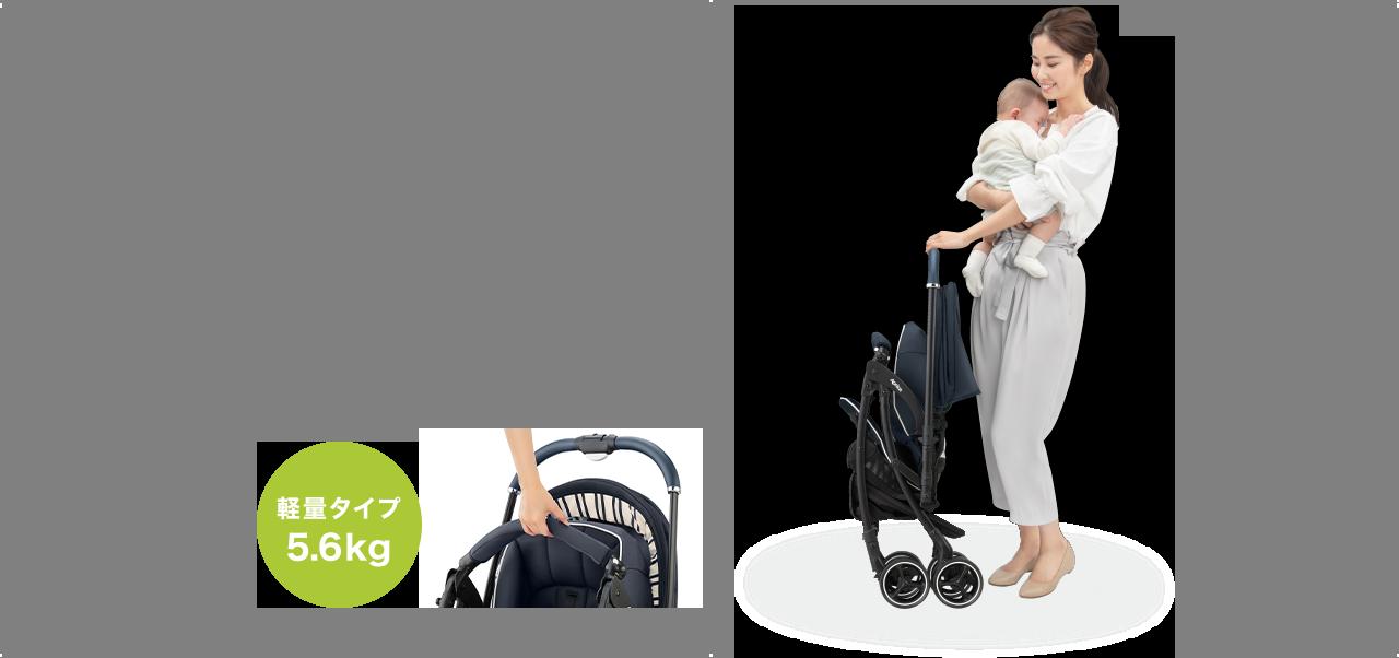 赤ちゃんに直接伝わる振動から守る しなやかクッション